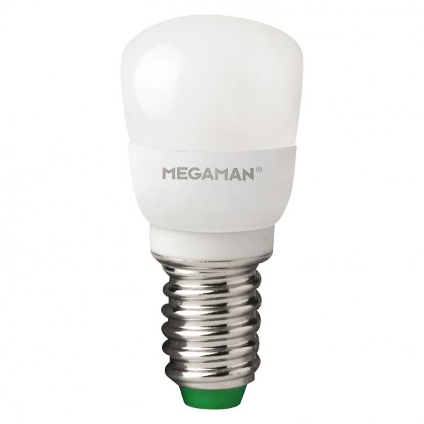 Køleskabspære LED E14, 2W Dæmpbar
