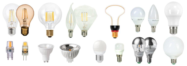Se vores store udvalg i LED lyskilder