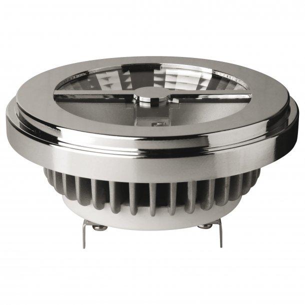 LED G53 AR111 15W 12v 2800K 24gr